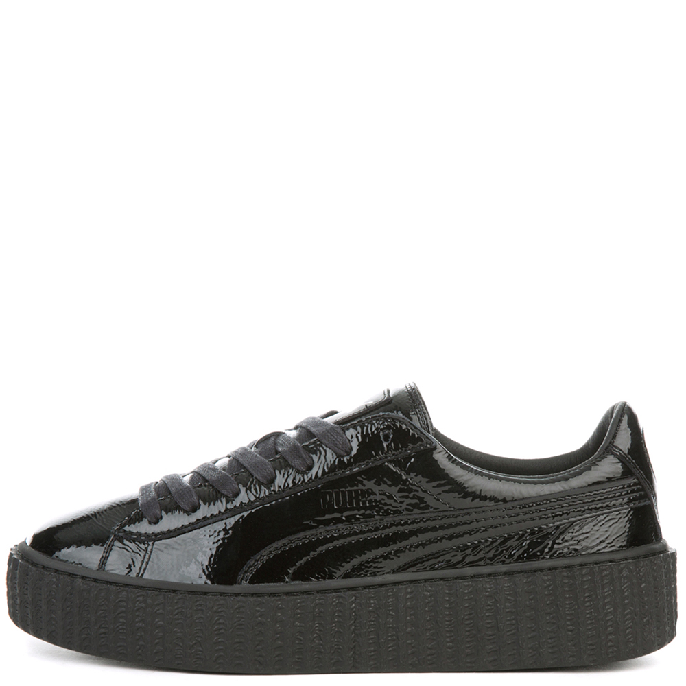 huge discount 66235 3cacc CREEPER WRINKLED PATENT PUMA BLACK-PUMA BLACK-PUMA BLACK