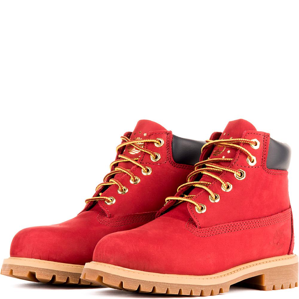 e2c3782d79950 Kids 6-inch Premium Waterproof Boot Red