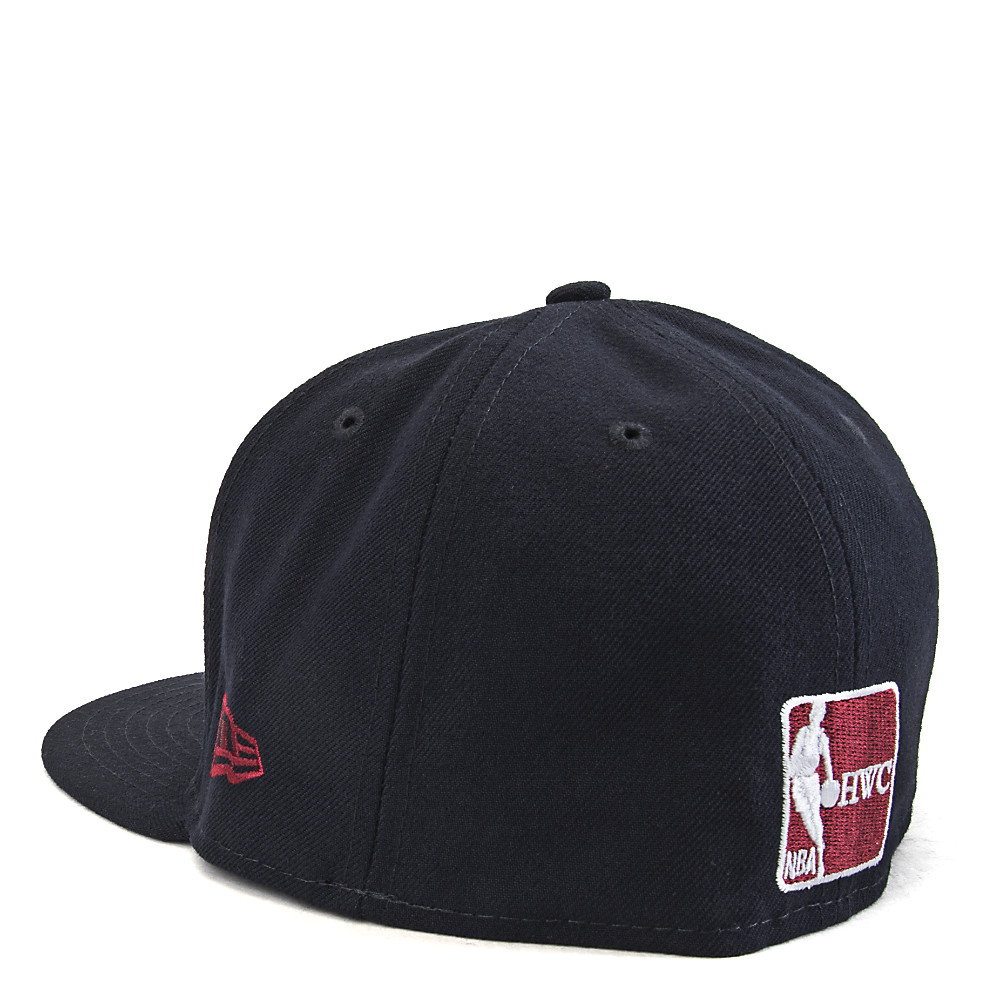 28cc49a7eefee Cleveland Cavaliers Fitted Cap Black Red Yellow