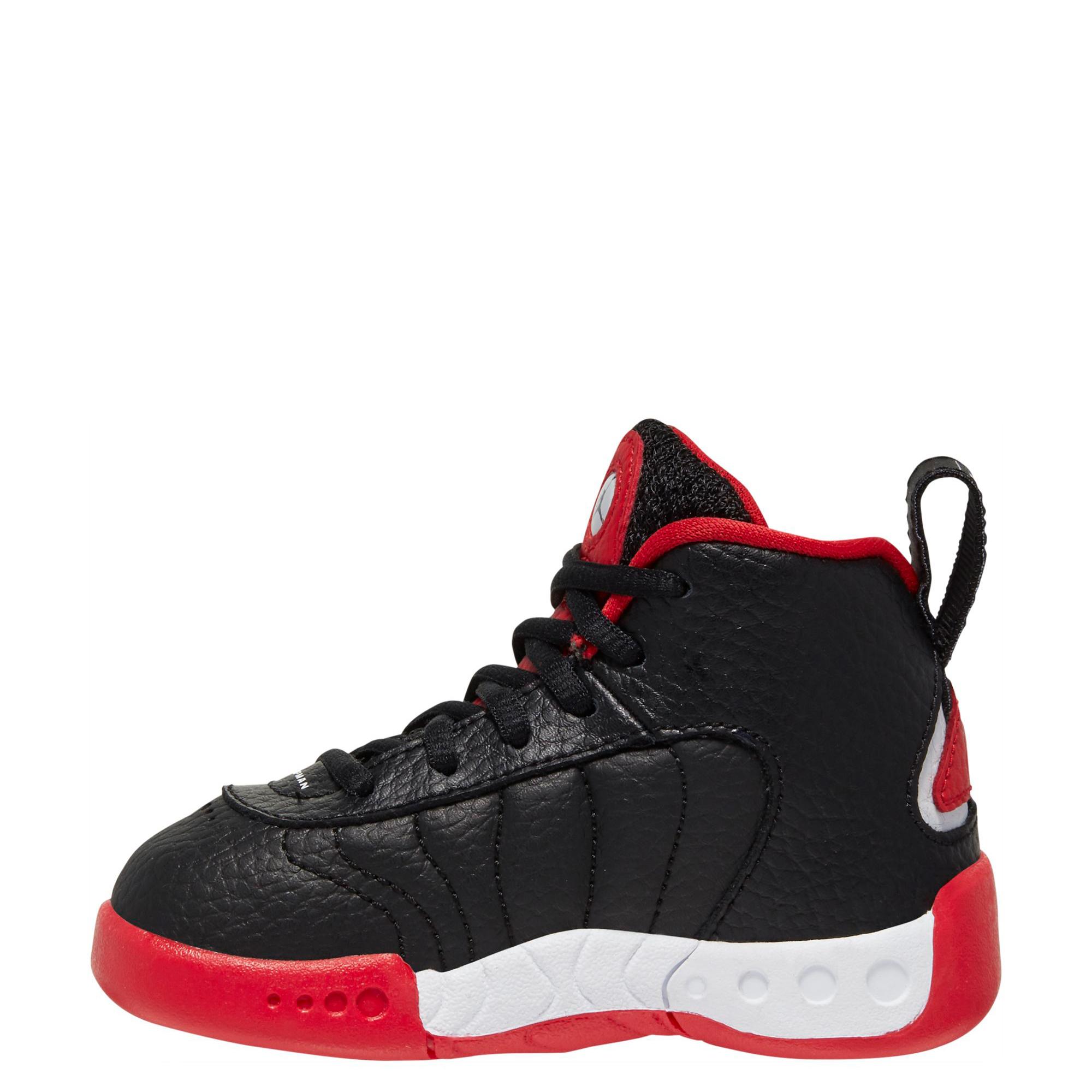 TD) Jumpman Pro Black/White-University Red