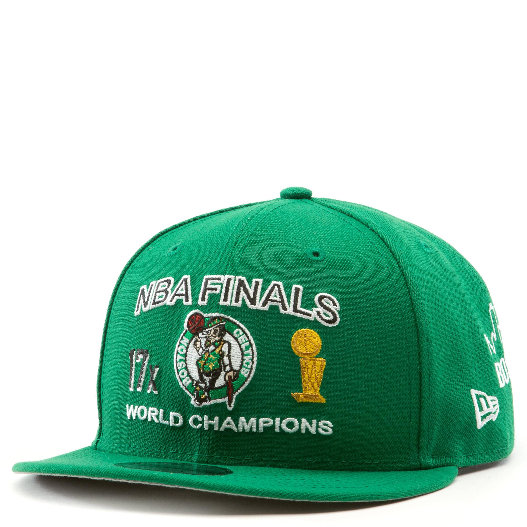 Boston Celtics NBA Finals 9Fifty Snapback Hat Green