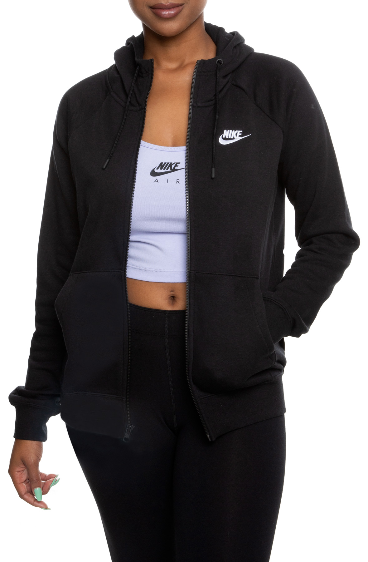 SPORTSWEAR ESSENTIAL ZIP UP HOODIE