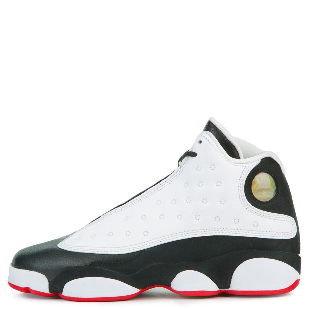 buy online 0f503 9e837 AIR JORDAN 13 RETRO (BG) WHITE/TRUE RED-BLACK