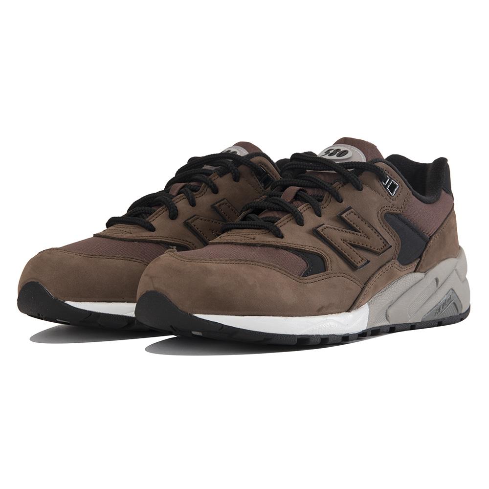 Criatura Restaurar Residente  New Balance for Men: 580 Brown Sneakers Brown