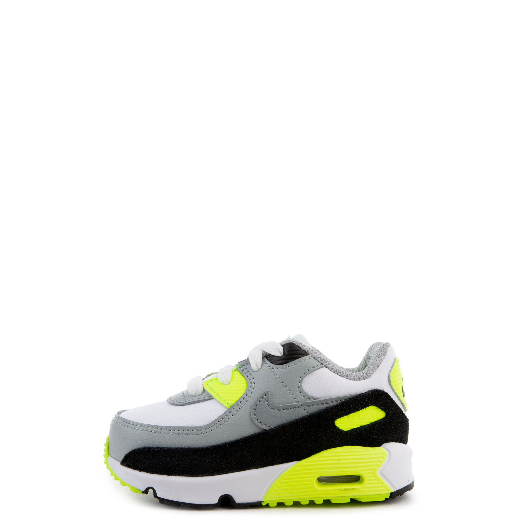 Td Air Max 90 White Particle Grey Lt Smoke Grey Volt