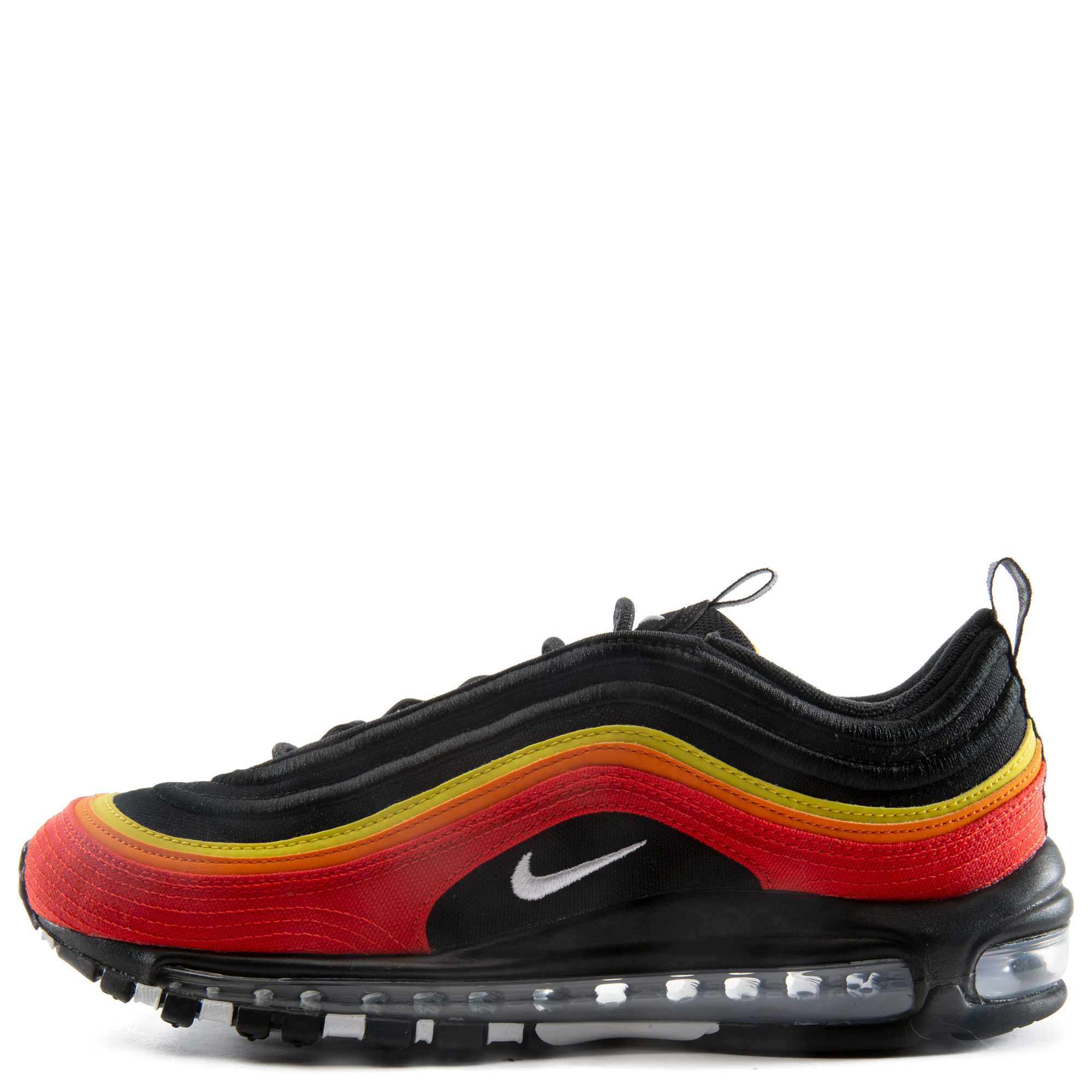 Air Max 97 Black White Chile Red Magma Orange