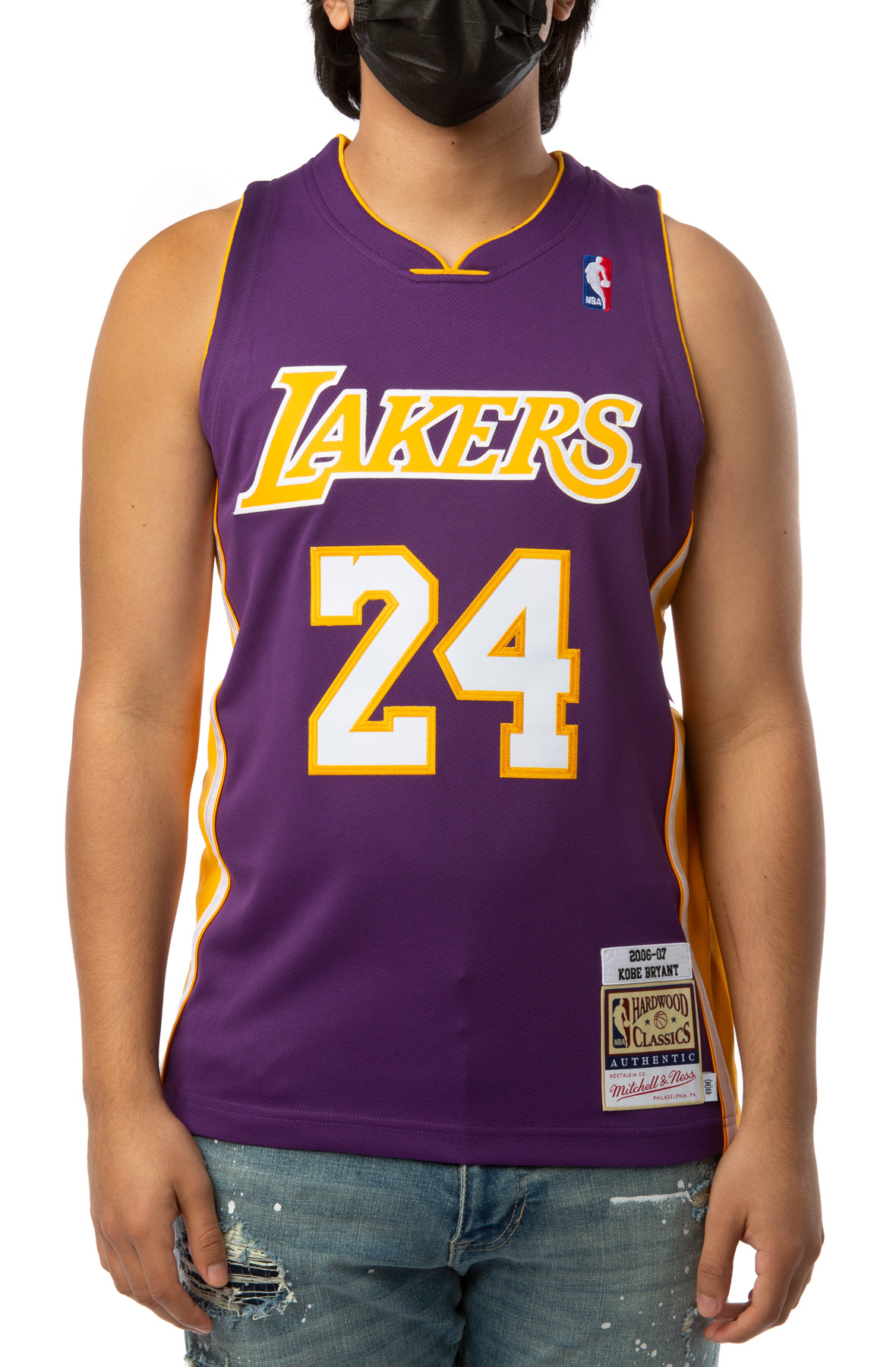 LOS ANGELES LAKERS KOBE BRYANT 2006-07 AUTHENTIC JERSEY
