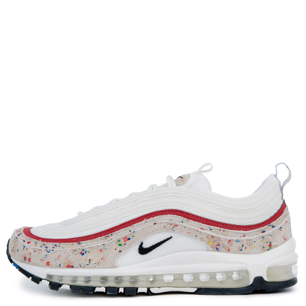 mens nike air max 97 shoes black/university red/black