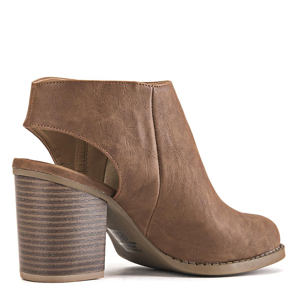 1152f40880f2 Women's Sheen Low-Heel Dress Shoe TAN PU