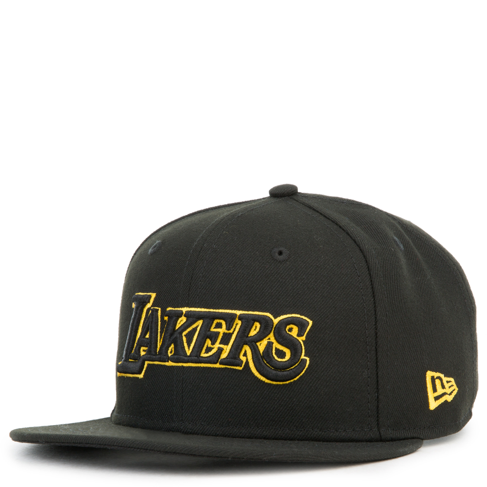 Los Angeles Lakers 9fifty Snapback Black Gold