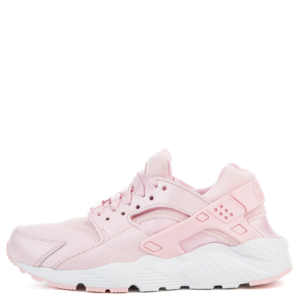 pink and white huaraches nike