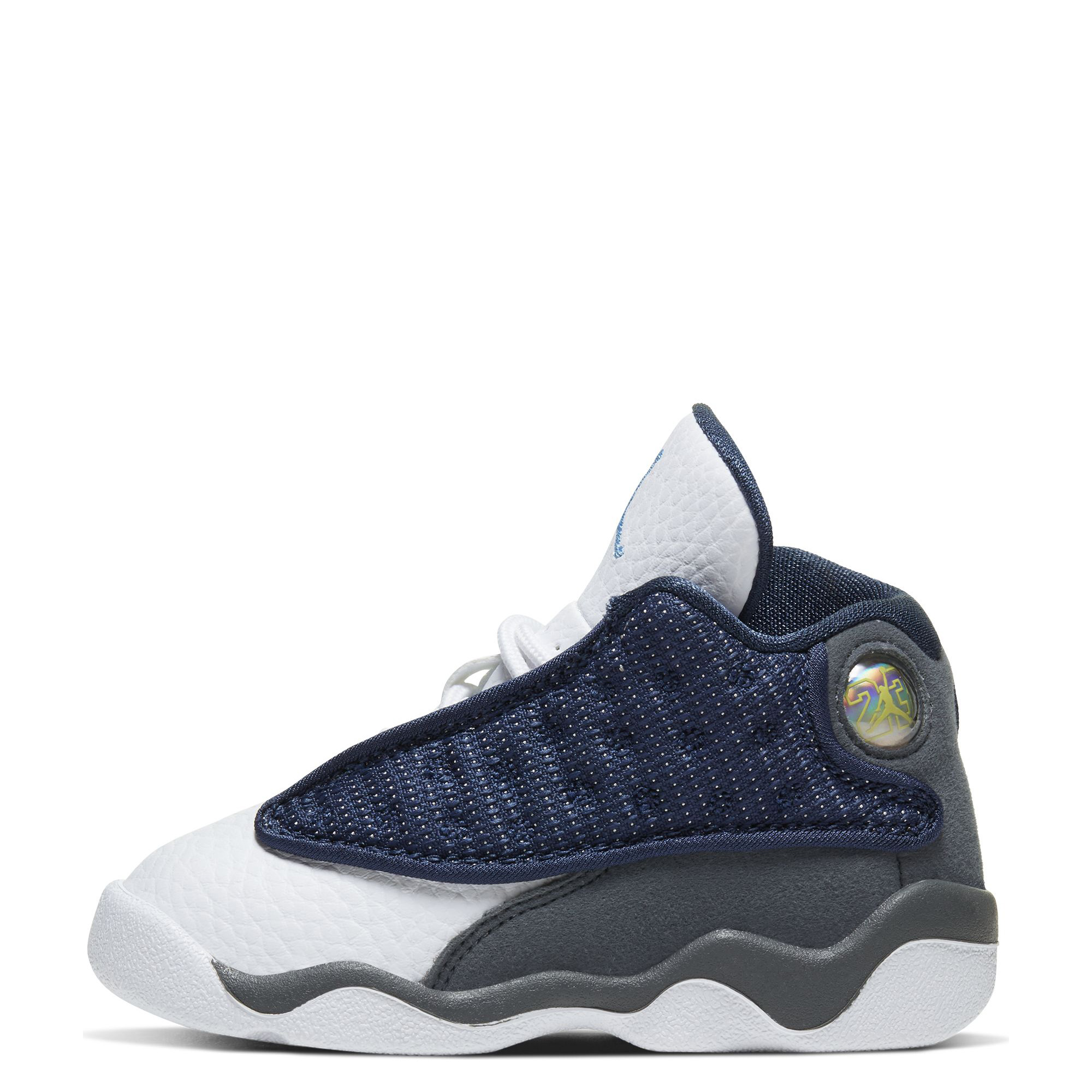 Td Air Jordan 13 Retro Navy University Blue Flint Grey White