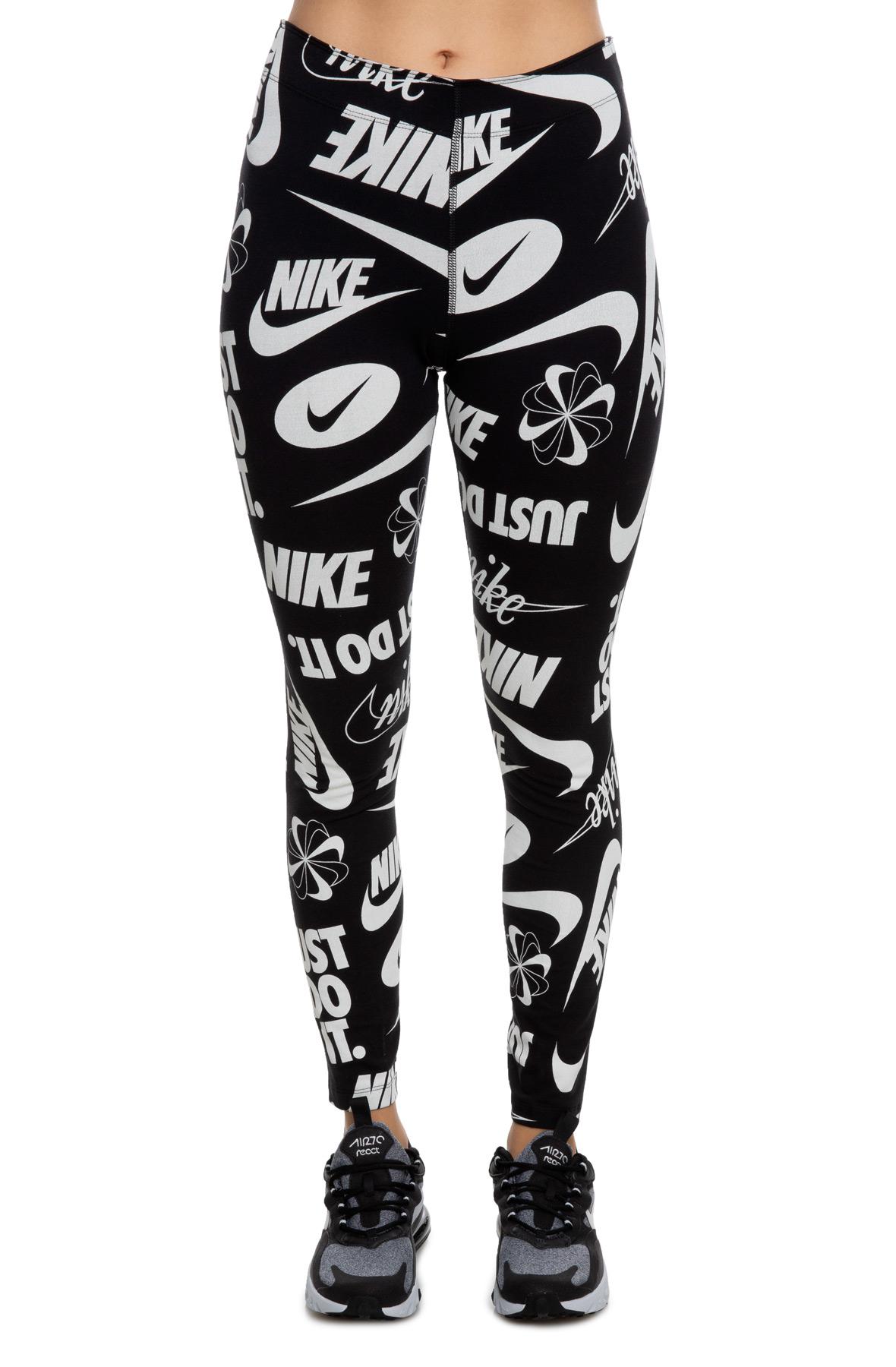 88692a637cf Sportswear Leg-a-See Leggings Black/White