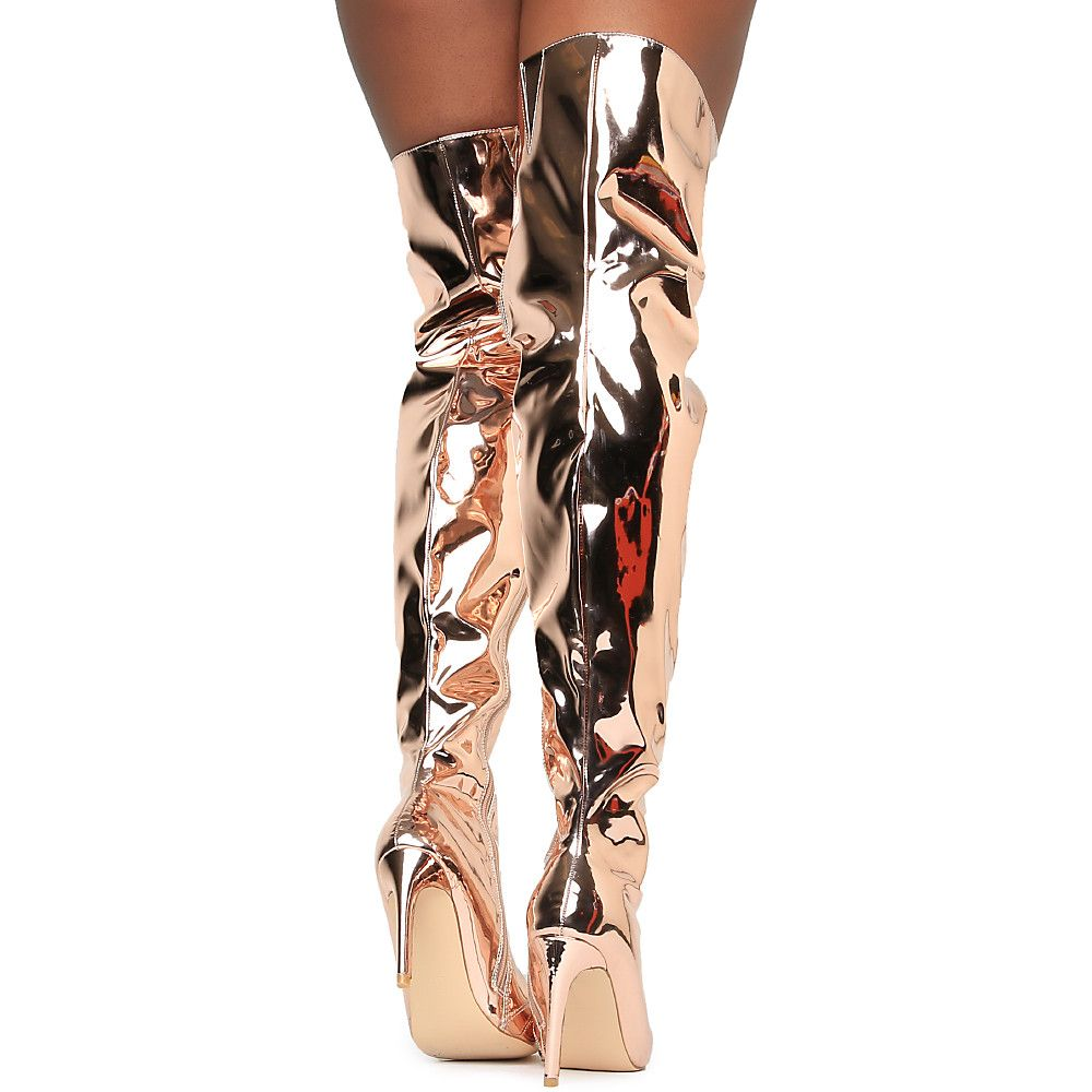 Women's Mini-80 Thigh High Boot | Shiekh Shoes