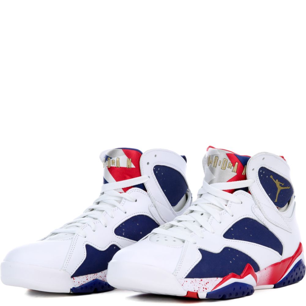 40eea604cd0d53 The New Blue And White Jordans Custom Shoe