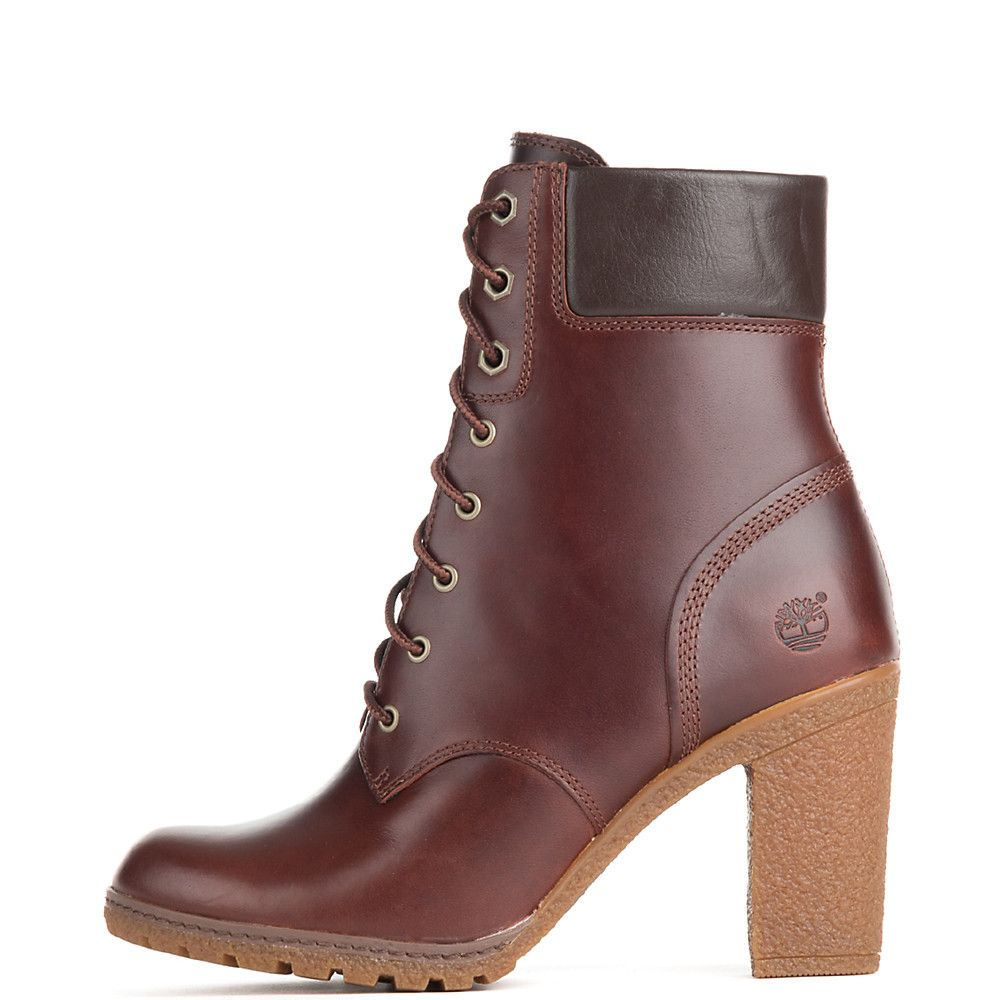 Timberland Glancy 6 IN Women's Low Heel Ankle Boots | Shiekh Shoes
