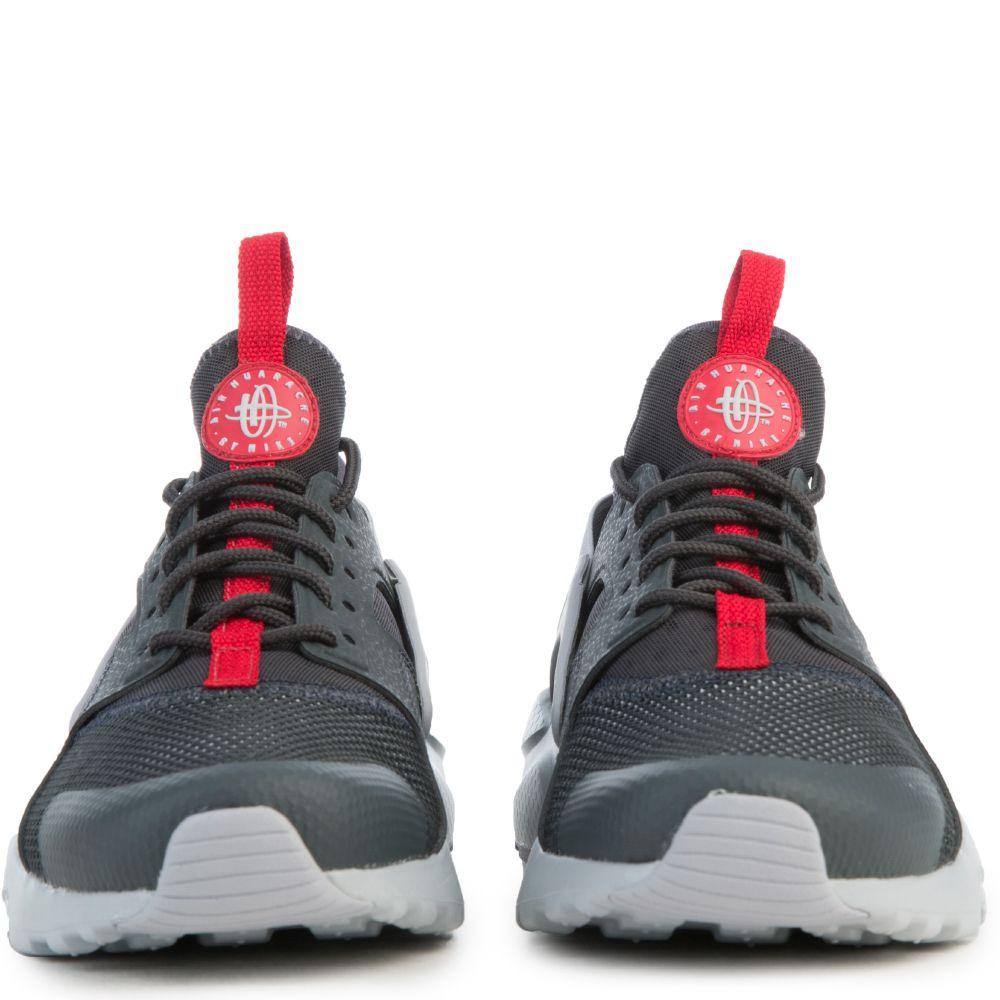 Air Huarache Run Ult Black Grey Red