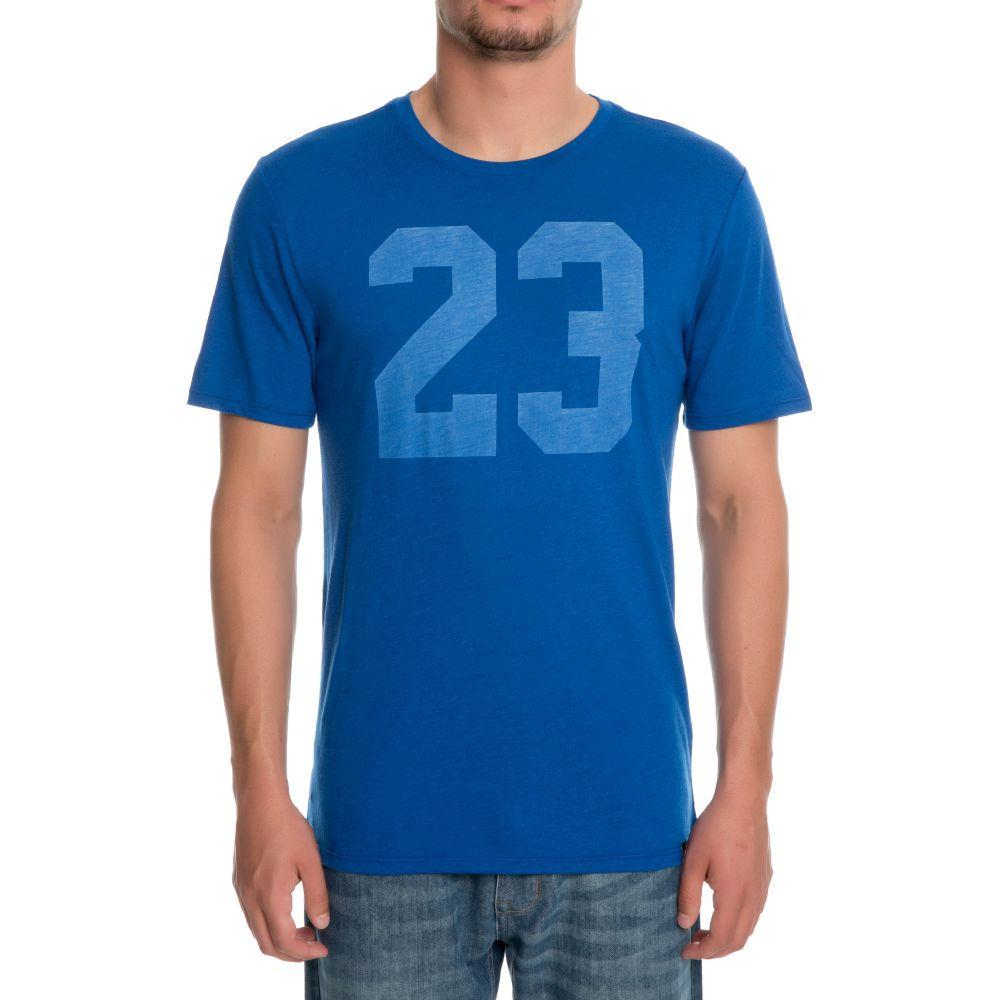 Jordan iconic 23 t shirt team royal team royal team roya for Jordan royal 1 shirt
