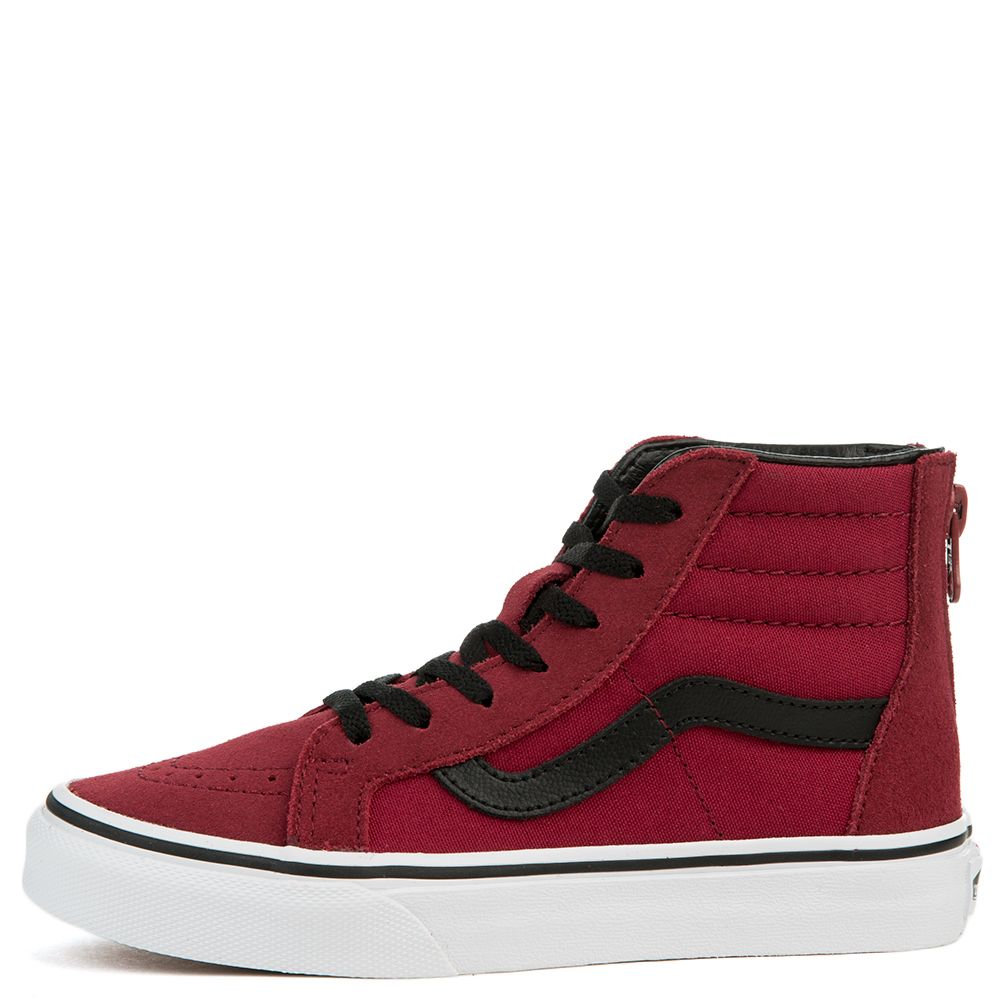 dd038201b5 SK8-HI ZIP (PS) TIBETAN RED/BLACK