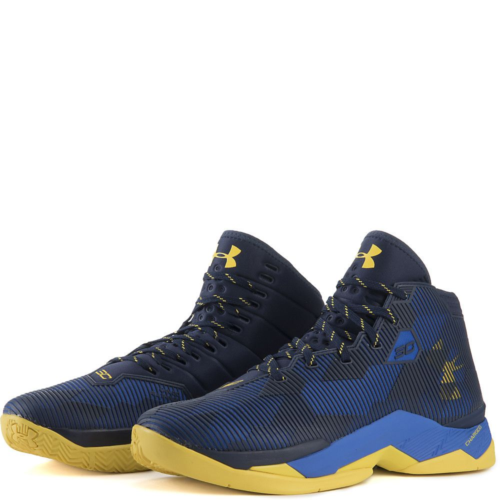 67aa7540e129 Men s Curry 2.5 Athletic Basketball Sneaker Royal Blue Yellow