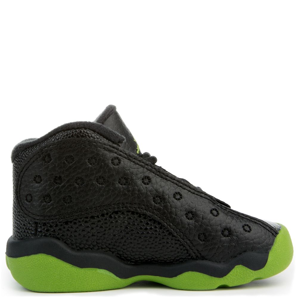 new arrival 7cb4d b20bc Jordan 13 Retro BLACK ALTITUDE GREEN-WHITE