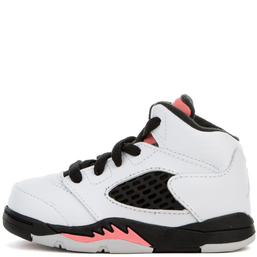 b8bdf92f056 TODDLER JORDAN 5 RETRO WHITE/WHITE-SUNBLUSH-BLACK