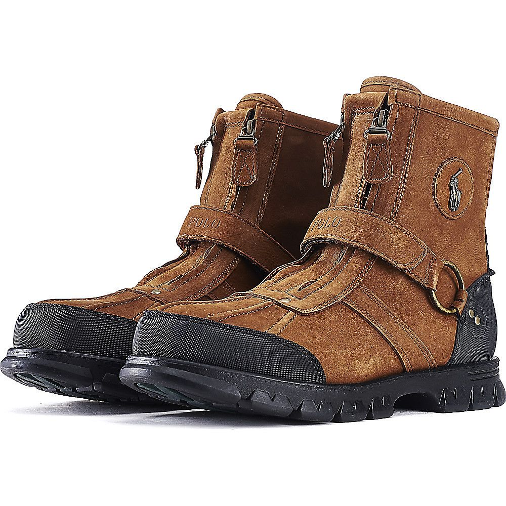7fad754655 Men s Casual Rugged Boot Conquest III Brown Black