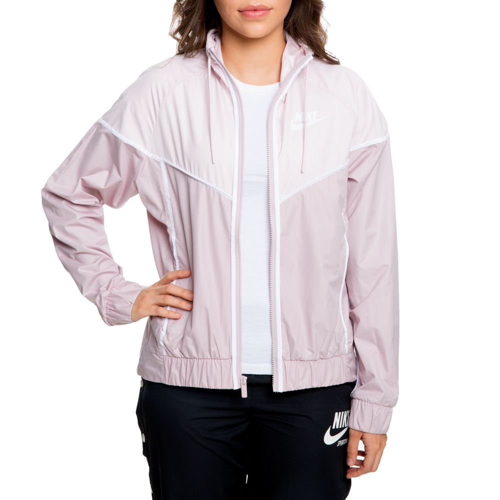 6cc1a9f76d85a WOMEN'S NIKE WINDRUNNER JACKET PARTICLE ROSE/BARELY ROSE/WHITE