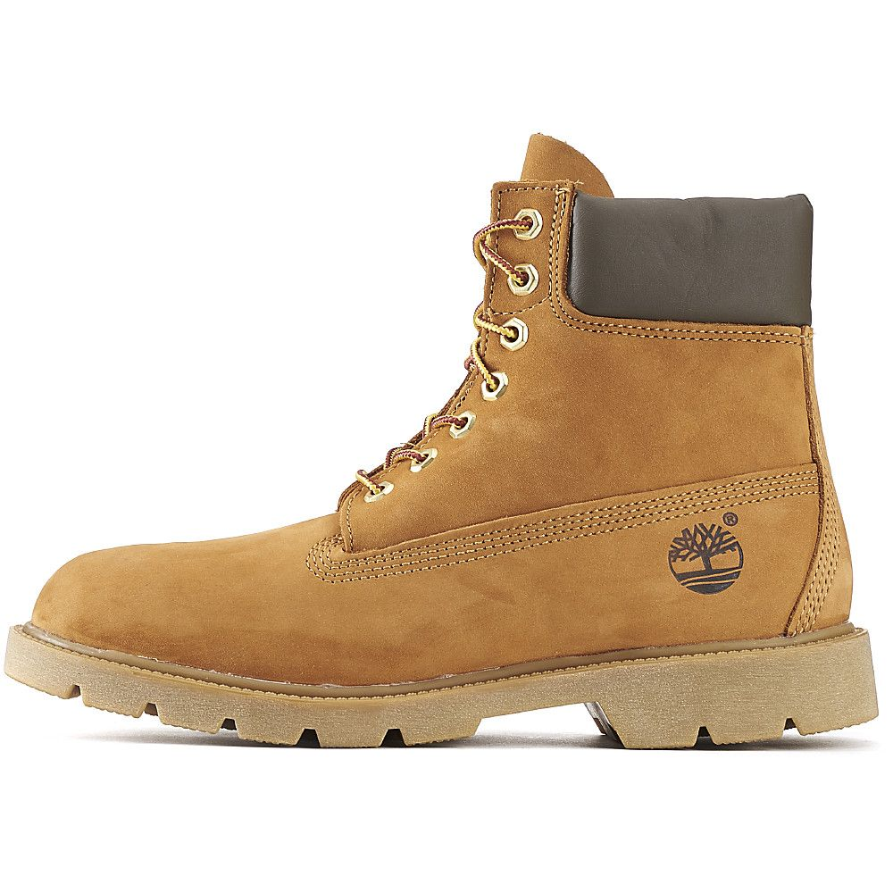 new product cc26e f1fe1 Timberland Boot Basic 6 Inch Casual Wheat Brown