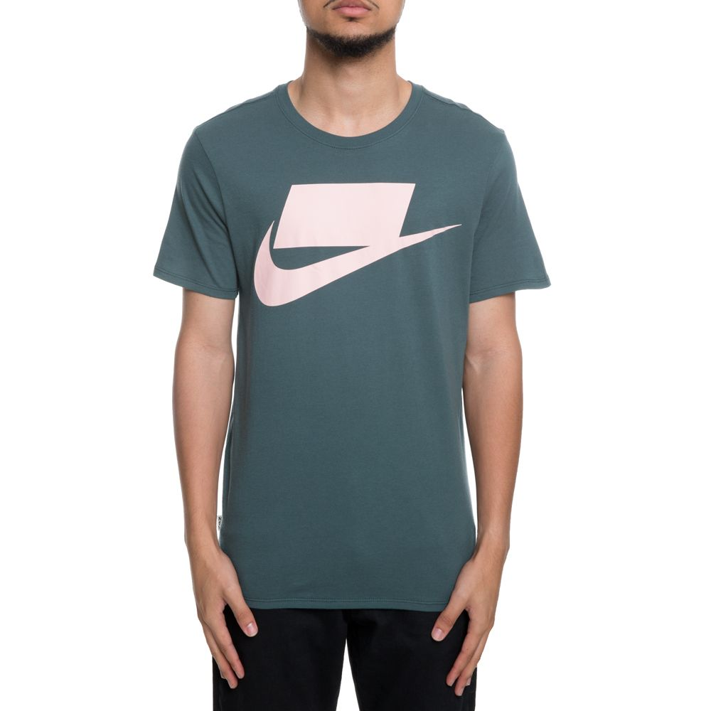 f421501b6 men's nike sportswear tee innovation nsw 2 faded spruce/storm pink