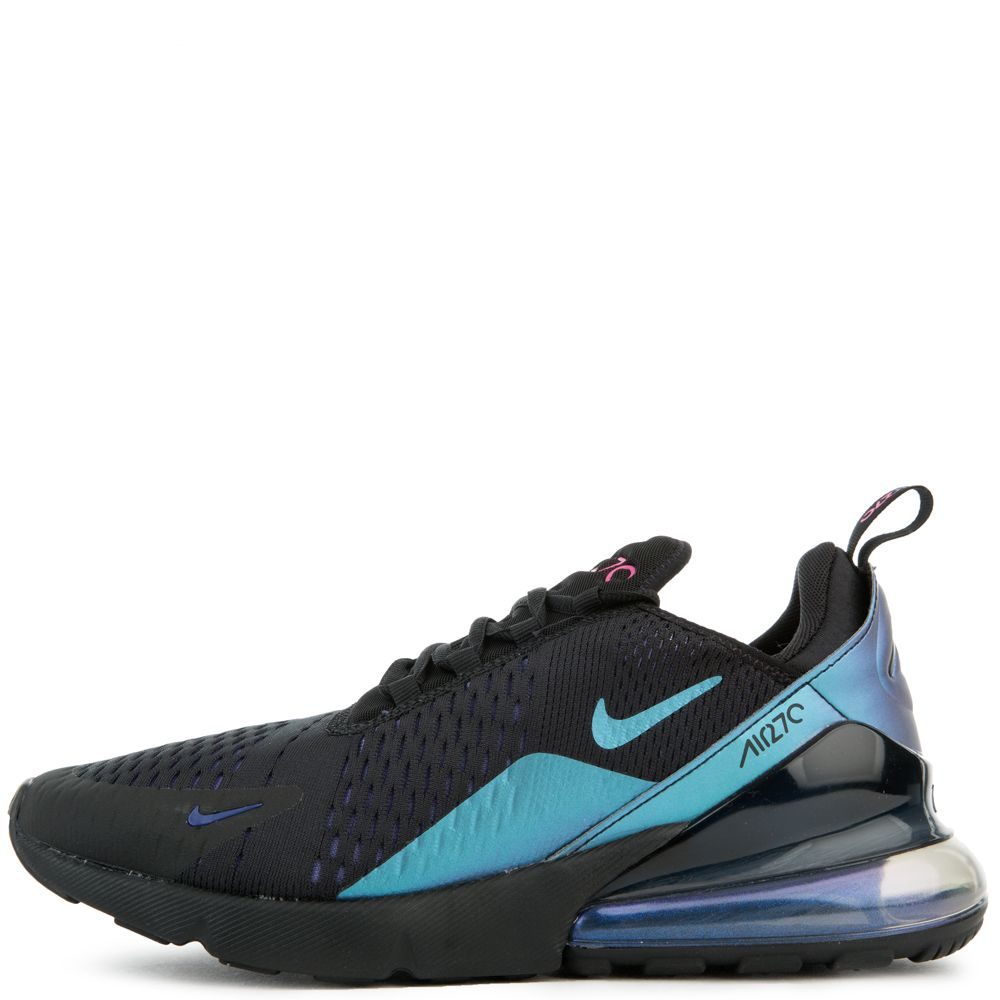 wholesale dealer 39faf 3e730 NIKE AIR MAX 270 BLACK LASER FUCHSIA-REGENCY PURPLE ...
