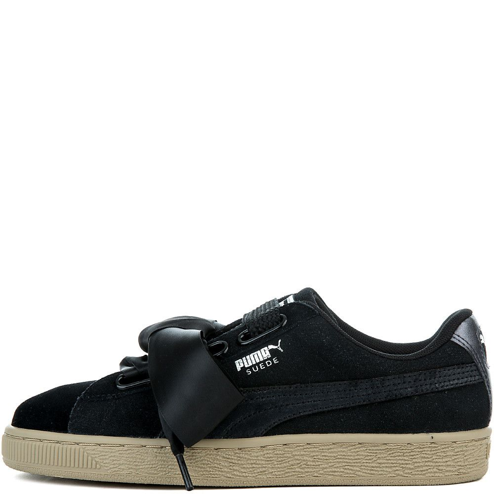 9c30a57d6d4199 Women s Suede Heart Safari Sneaker PUMA BLACK PUMA BLACK - Women s ...