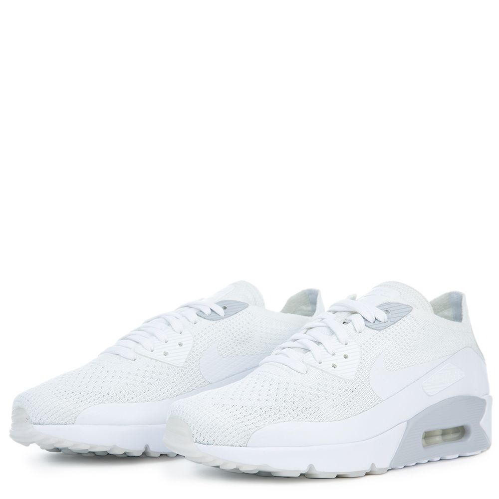 AIR MAX 90 ULTRA 2.0 FLYKNIT WHITE WHITE-PURE PLATINUM-WHITE b73762108