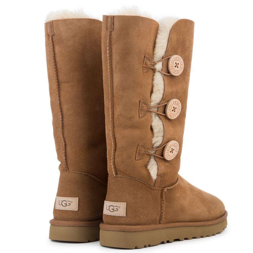 51e715f84c0 Women's Bailey Button Triplet II Chestnut Boots CHESTNUT