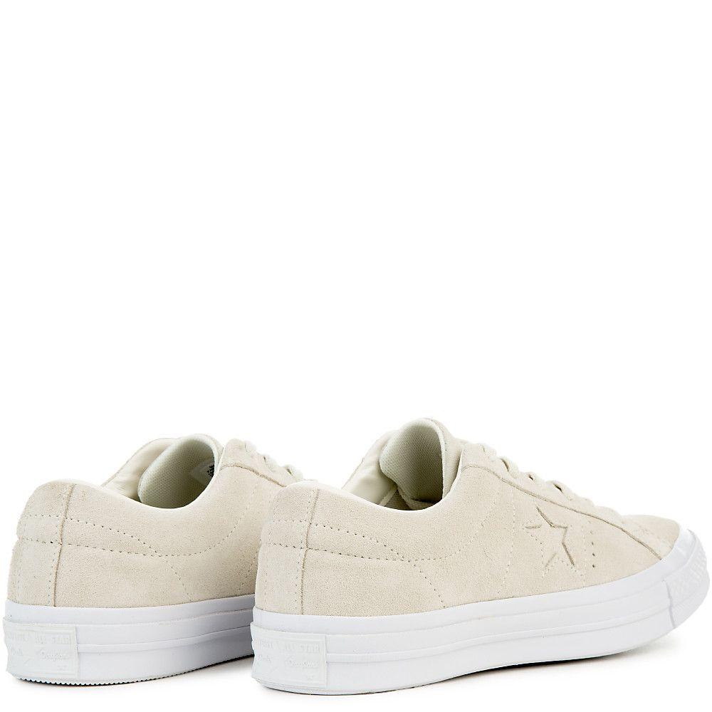 c6b44ec7df5ddd Women s One Star Suede Ox Sneaker egret egret white