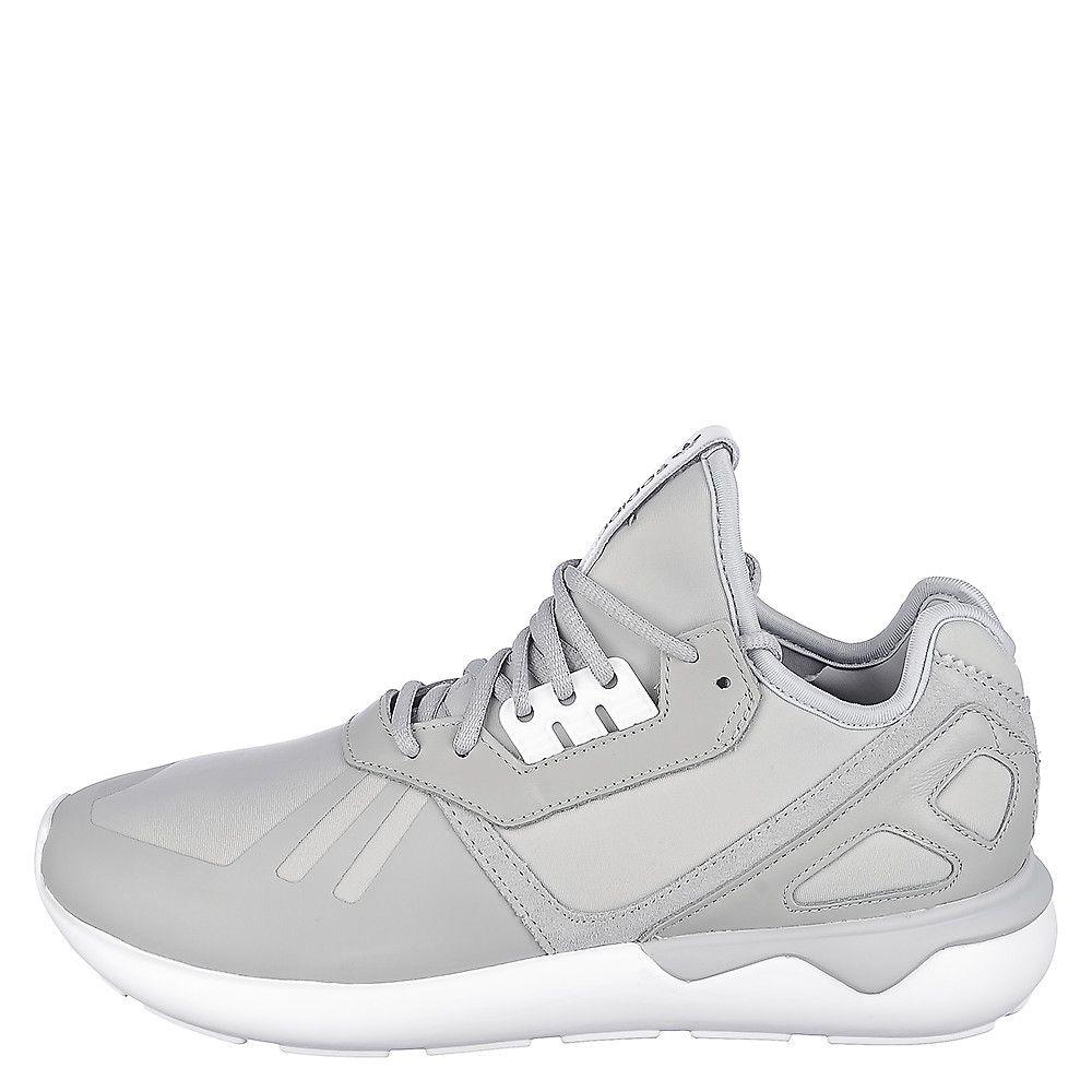 cheap for discount 09204 5ec9e Men's Tubular Runner Athletic Running Sneaker Gray