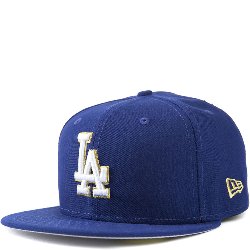 282f0346 LA Dodgers Fitted Cap Blue