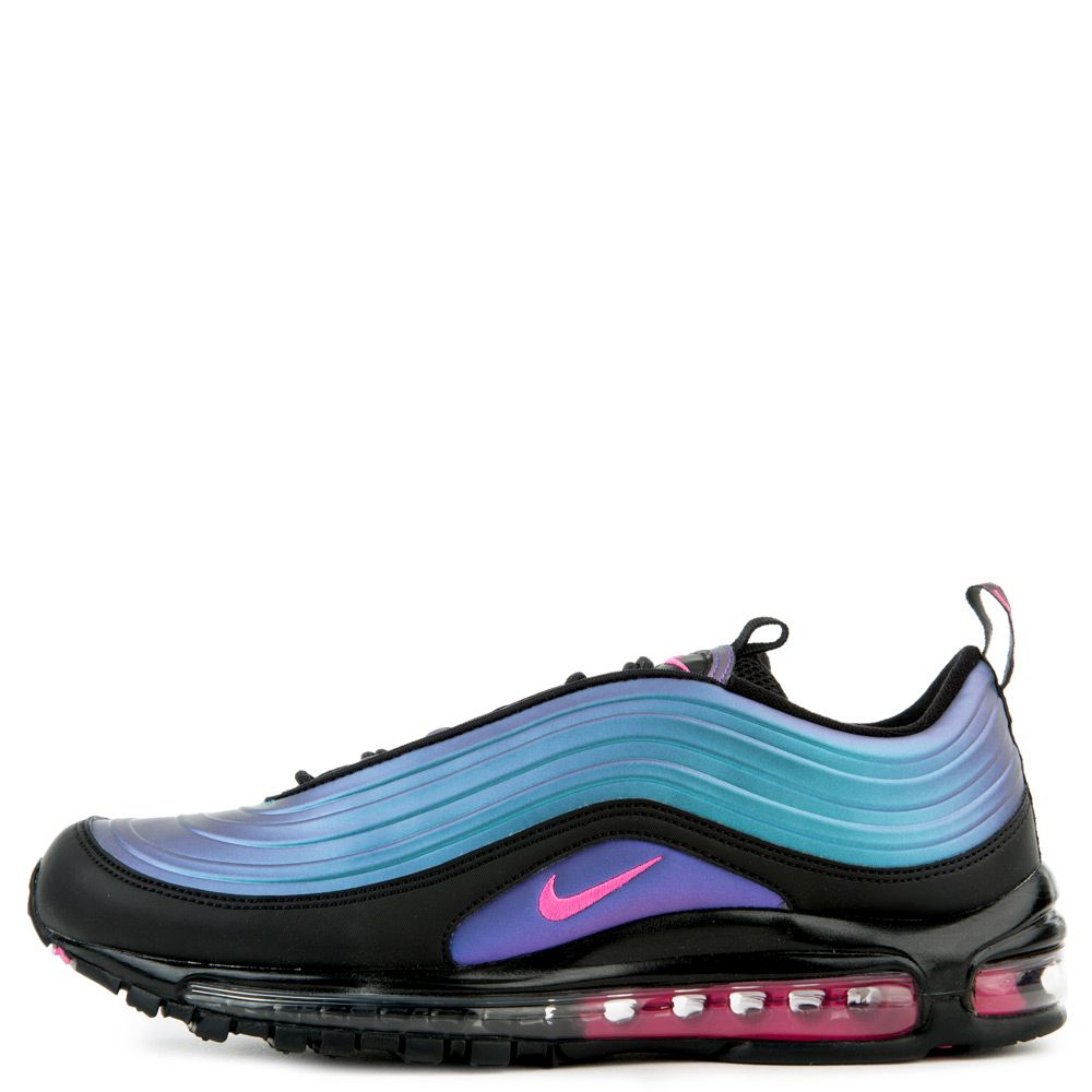 AIR MAX 97 LX BLACK/LASER FUCHSIA-THUNDER GREY