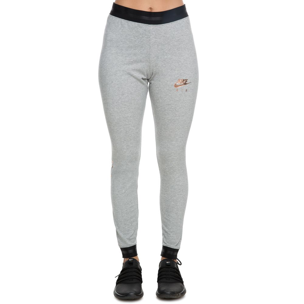 4b1ebf4671ccf women's nike sportswear air leggings dk grey heather/black