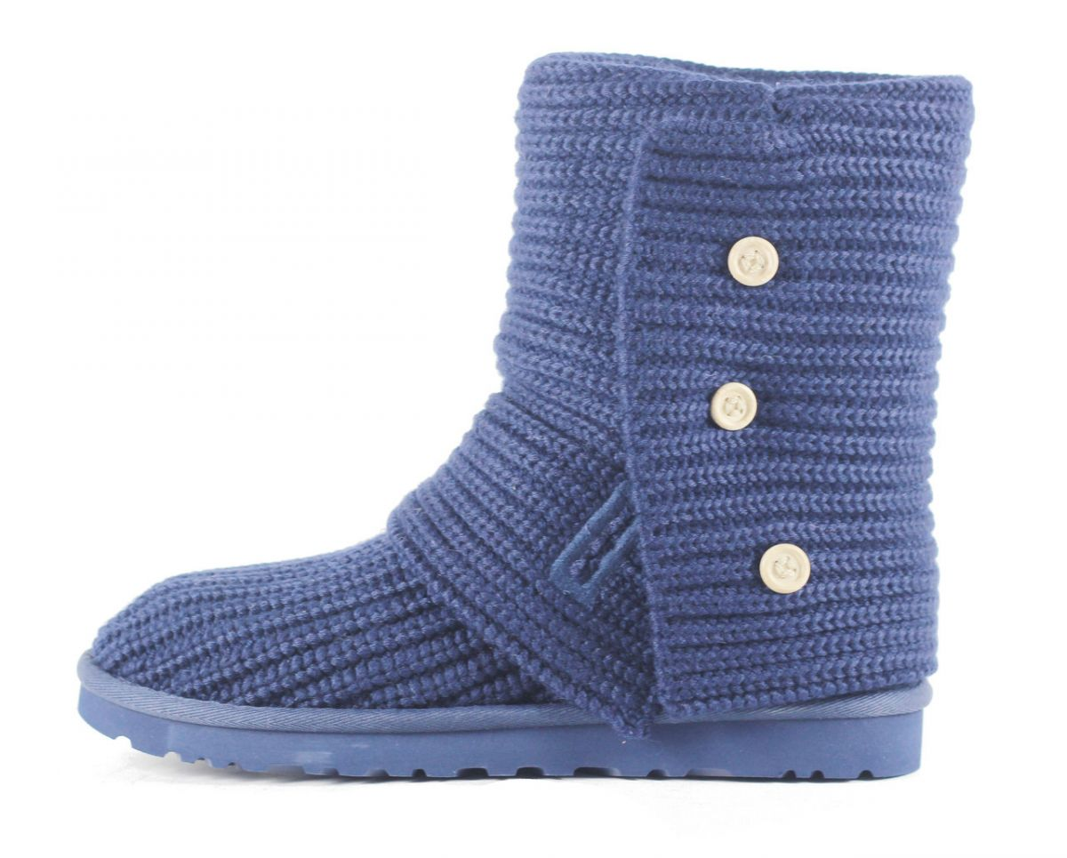 53605110733 UGG Australia for Women: Classic Cardy Peacoat Ankle Boot Peacoat