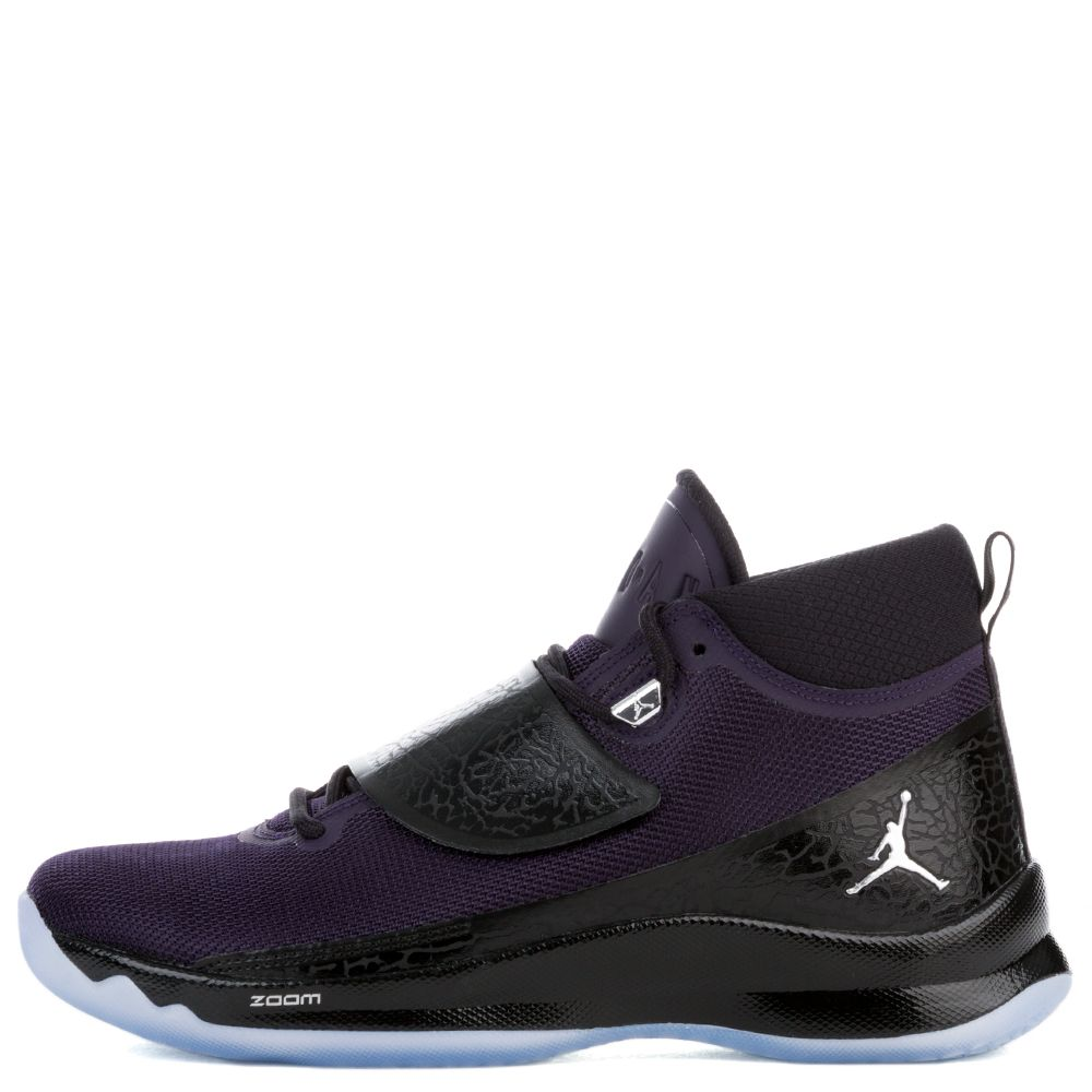 new concept 08290 9c540 free shipping jordan super fly 2 purple silver 9176d 3a8f4