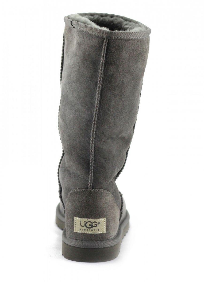 bf86258711c UGG Australia for Women: Classic Tall Grey Boots Grey