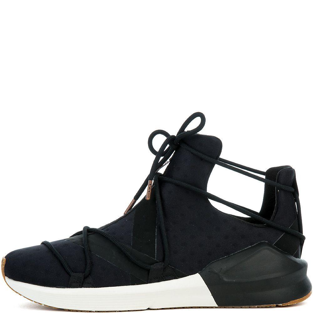 d63a8dbe636 ... get womens fierce rope vr sneaker puma black whisper white 299ef f2e6e