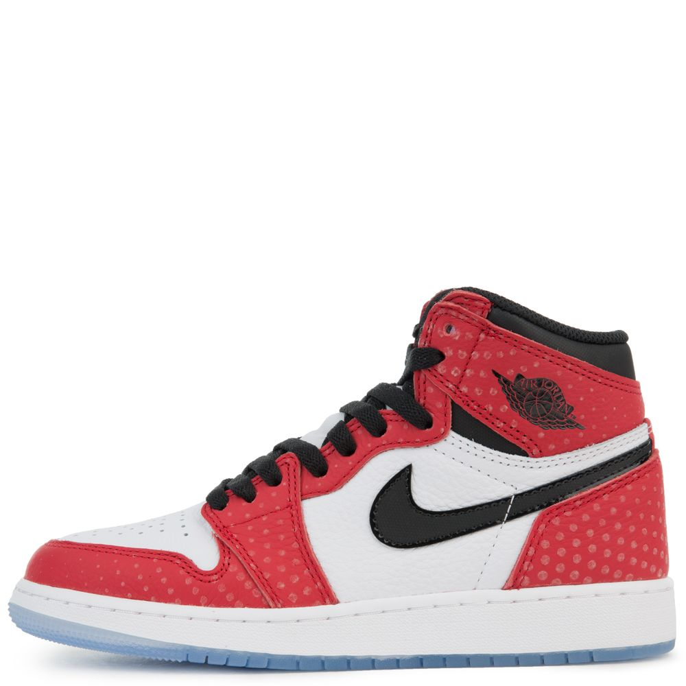 ae86e3d3bef (gs) air jordan 1 retro high og gym red/black-white-photo blue