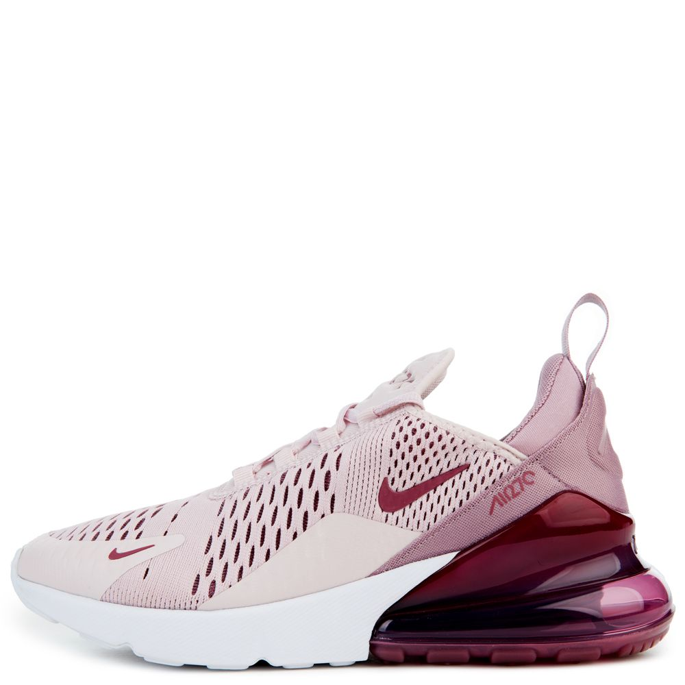 ab13424259 women's nike air max 270 barely rose/vintage wine/elemental rose