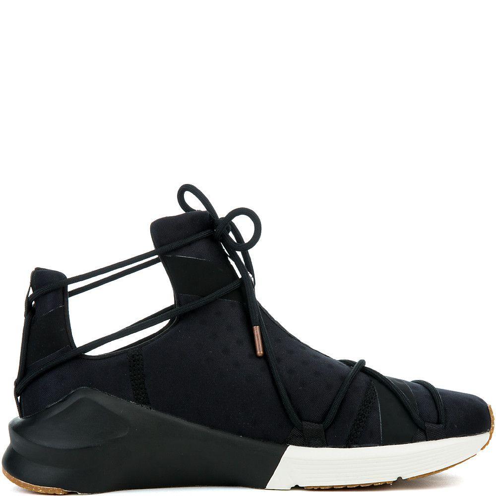 c0121002a3c304 Women s Fierce Rope VR Sneaker PUMA BLACK WHISPER WHITE
