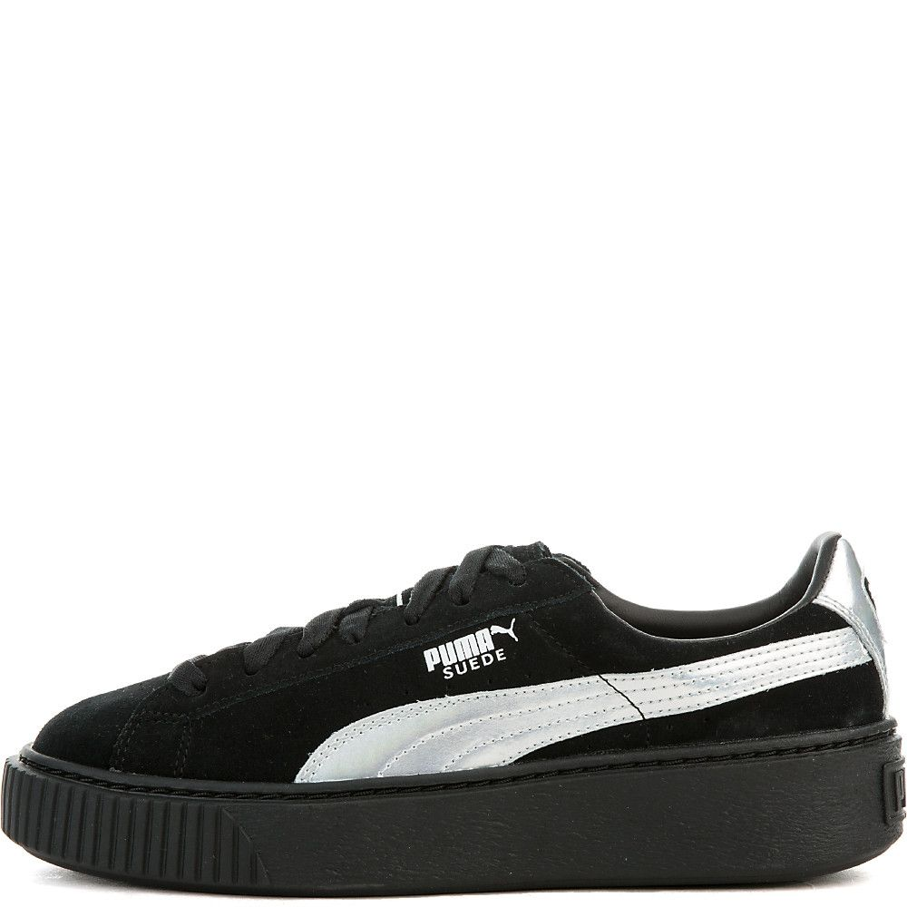 a8a8a0212b84 Women s Suede Platform Sneaker puma black puma black