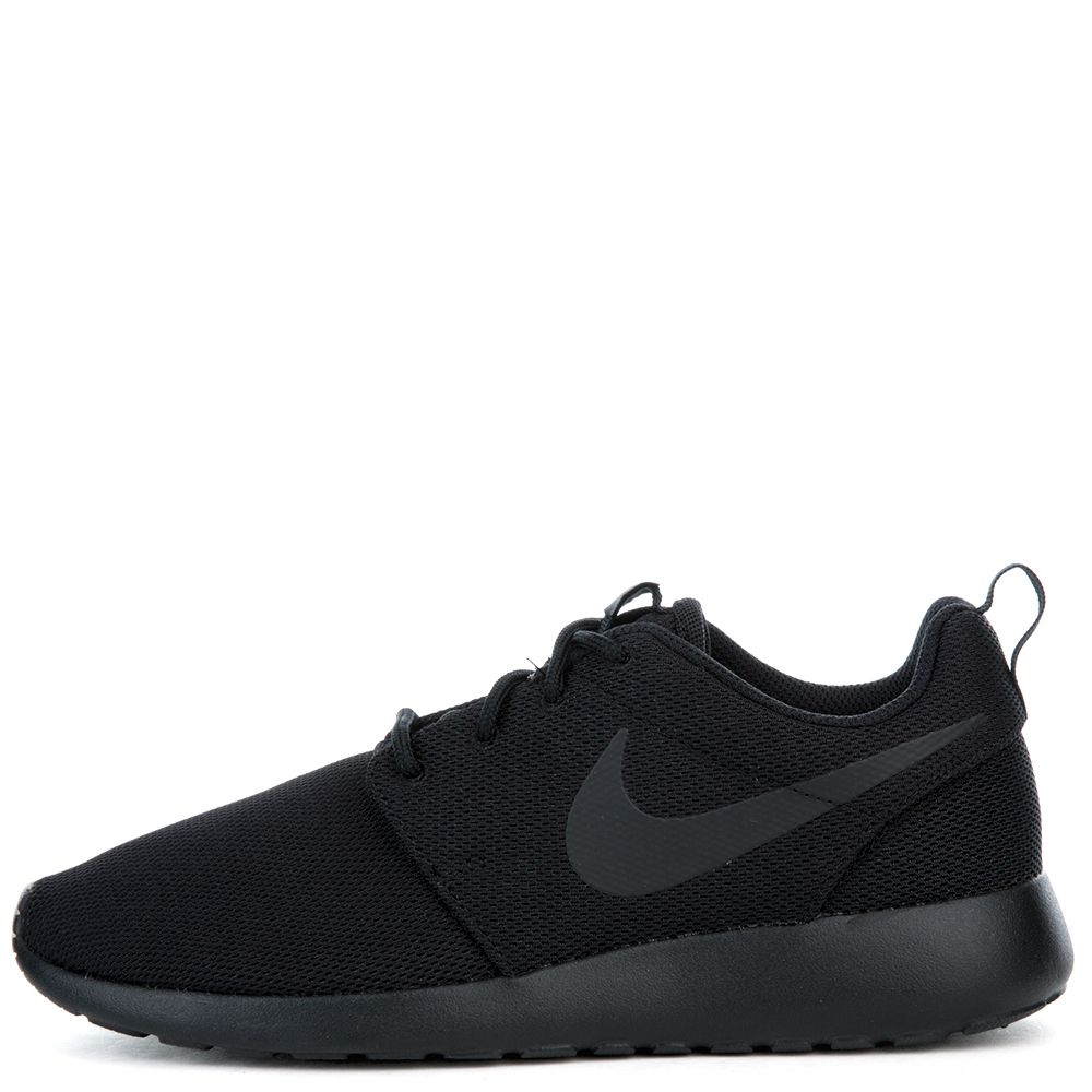 the latest ad662 1d16a sale nike black roshe 1 shoe fc761 add4f