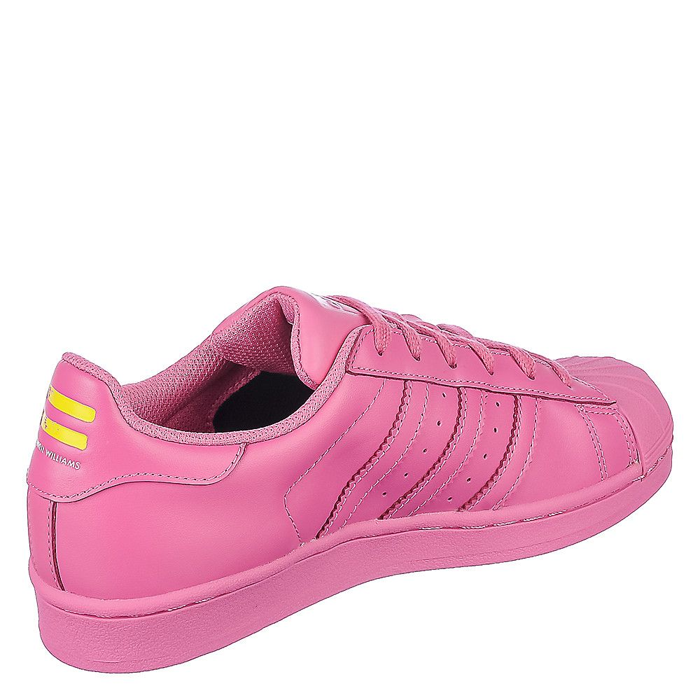 94d2d517be01e Pharrell Williams Superstar Supercolor J (Youth) Pink