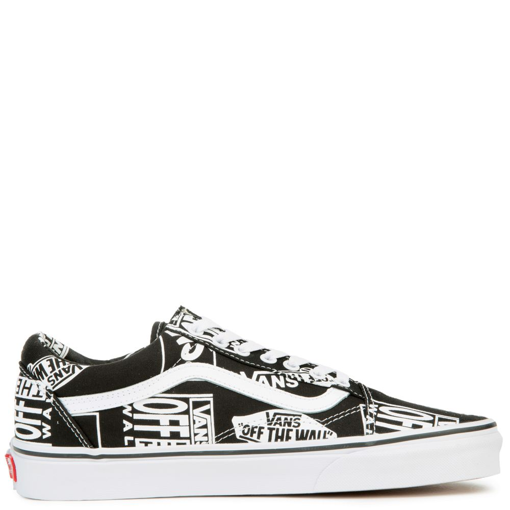 a7e9b57c9356 MEN S VANS OLD SKOOL BLACK WHITE